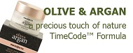 ARGAN & OLIVE - a precious touch of nature with TimeCode™ Formula