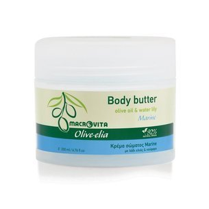 MACROVITA BODY BUTTER OLIVELIA MARINE olive oil & water lily 200ml