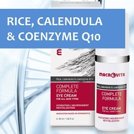 Enjoy MACROVITA RICE, CALENDULA und COENZYME Q10 revitalizing care!