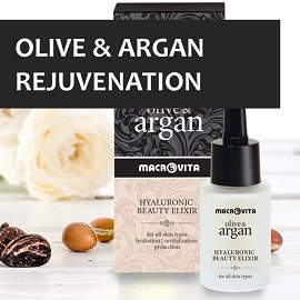 Enjoy MACROVITA OLIVE and ARGAN TimeCode Formula!