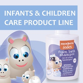 Enjoy MACROVITA INFANTS and CHILDREN CARE PRODUCT LINE!