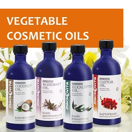 Enjoy MACROVITA VEGETABLE COSMETIC OILS!