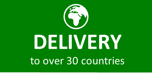Delivery to over 30 countries.