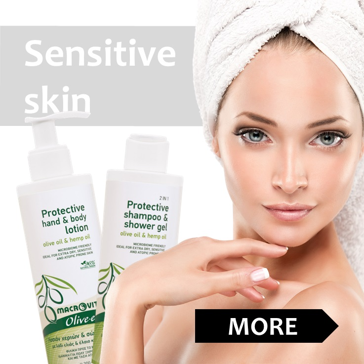 Products specifically formulated for the needs of the sensitive and atopic prone skin.