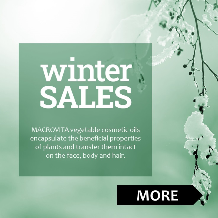 WINTER SALES natural cosmetic oils