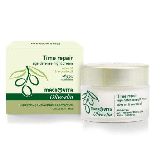 MACROVITA OLIVE-ELIA TIME REPAIR CREAM olive oil & monk's pepper for all skin types 50ml